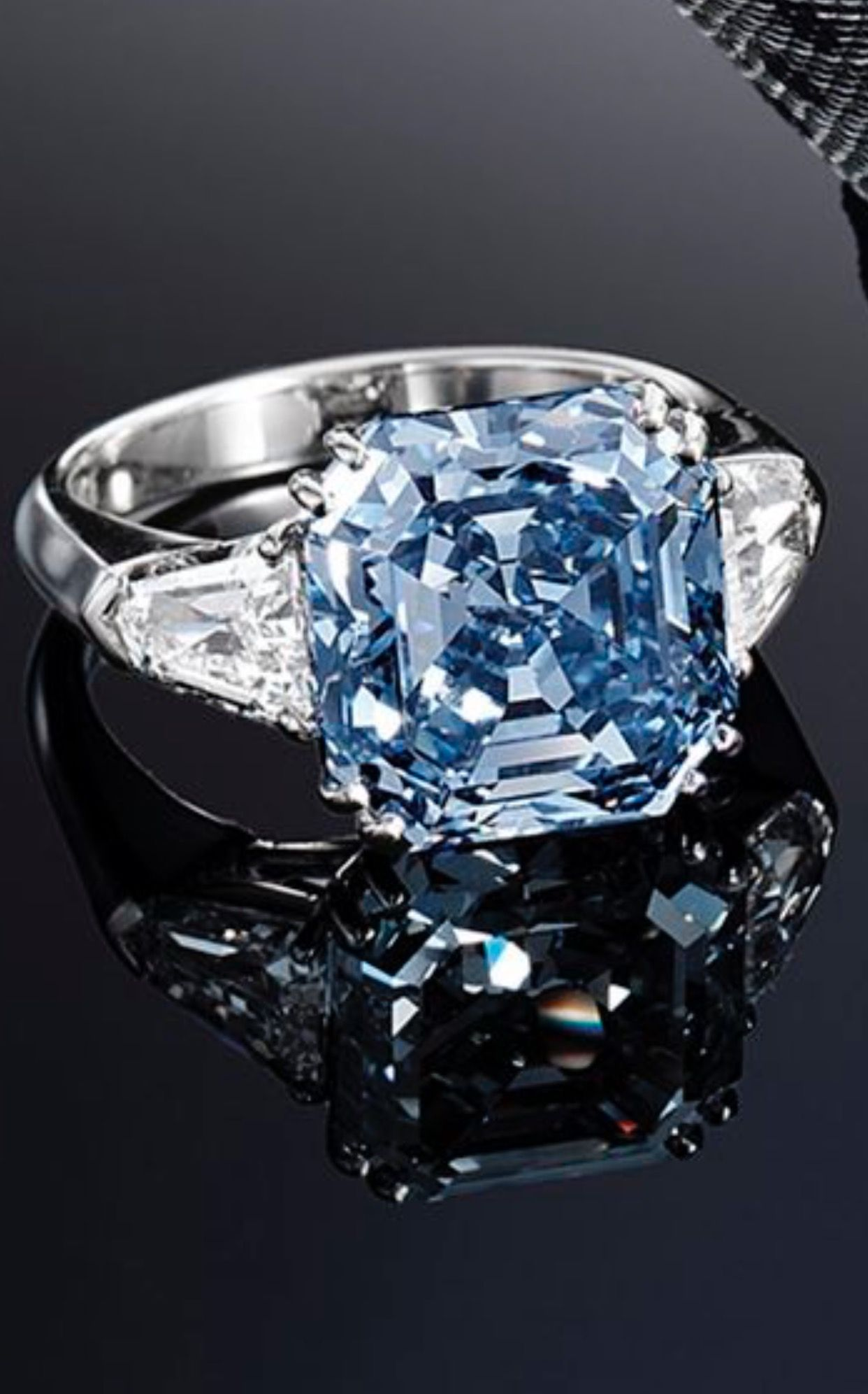 A Highly Important and Very Rare Fancy Vivid Blue Diamond and