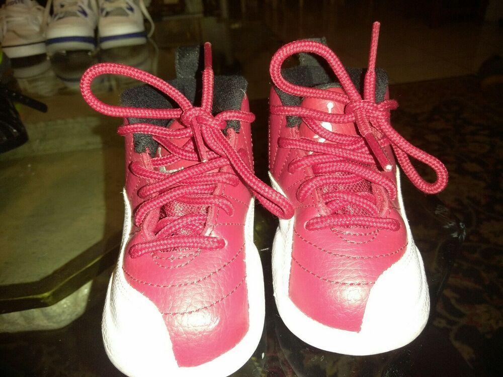b4441708d970 Red and White toddler jordans 5c w pair of socks  fashion  clothing ...