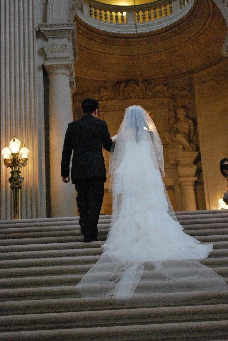 108 inch 2 tier cathedral circular/drop wedding veil