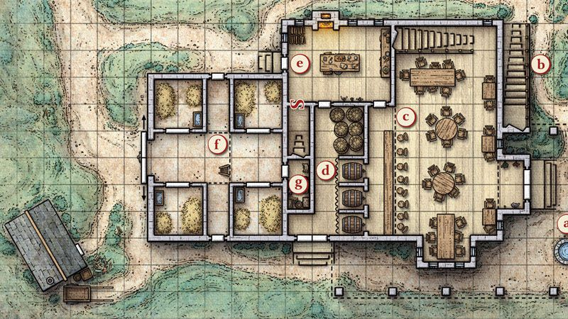 picture about Redbrand Hideout Map Printable referred to as This tactical fight map was produced for the Dungeons