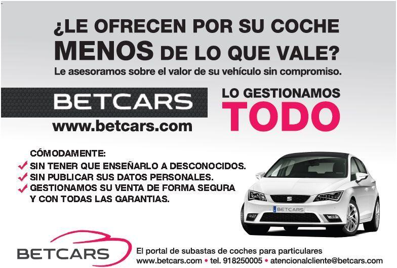 ¡Asesórate con Betcars!