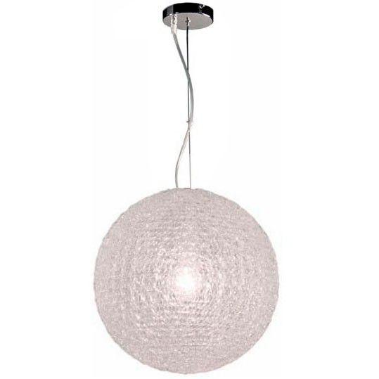 Lámpara Colgante de Techo Esfera Transparente 40cm Lámparas - lamparas de techo modernas