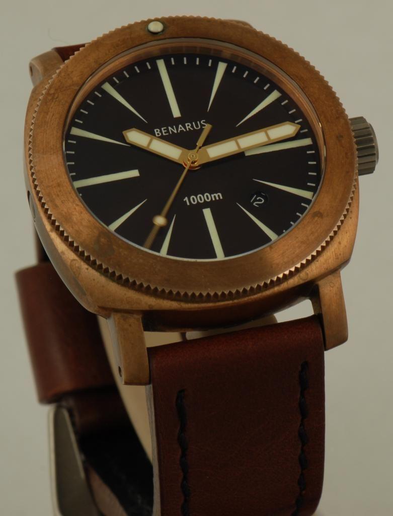Benarus Bronze Moray   Bronze watch   Pinterest