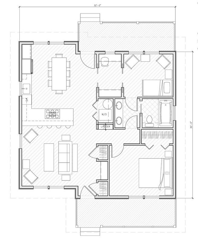 Small House Plans Under 1000 Sq Ft Joy Studio Design Gallery Best Design Small House Floor Plans Small House Plans Tiny House Plans