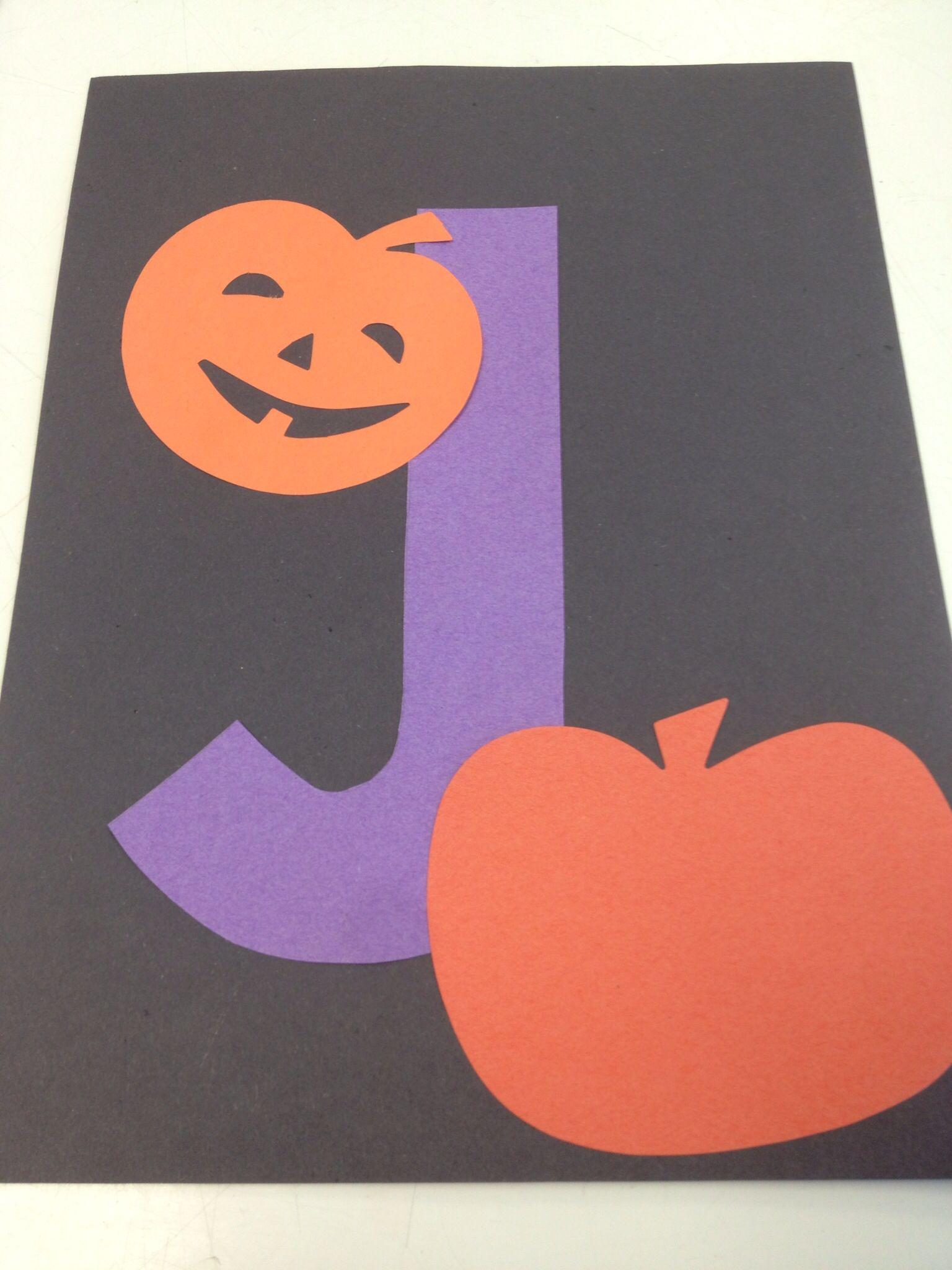 J Is For Jack O Lantern