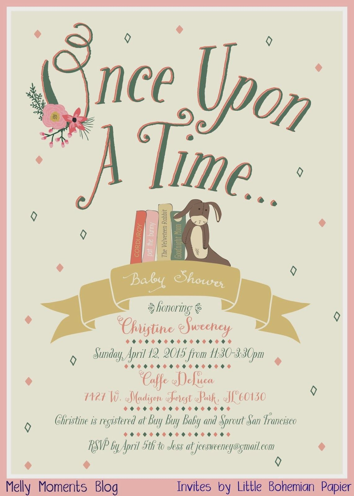 Melly Moments: Storybook Themed Baby Shower | Baby!!!! | Pinterest ...