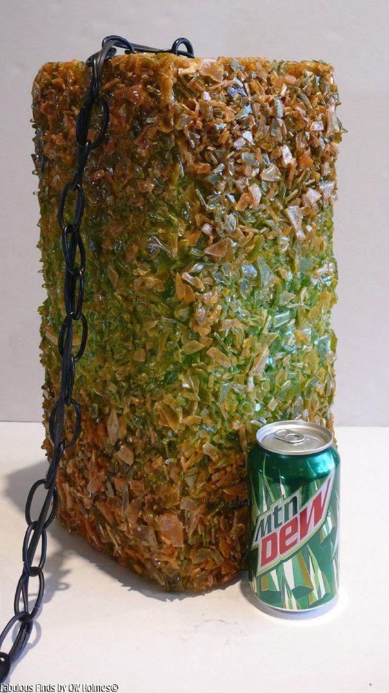 Mid-Century Modern Hanging Swag Light Lamp Fixture Acrylic ...