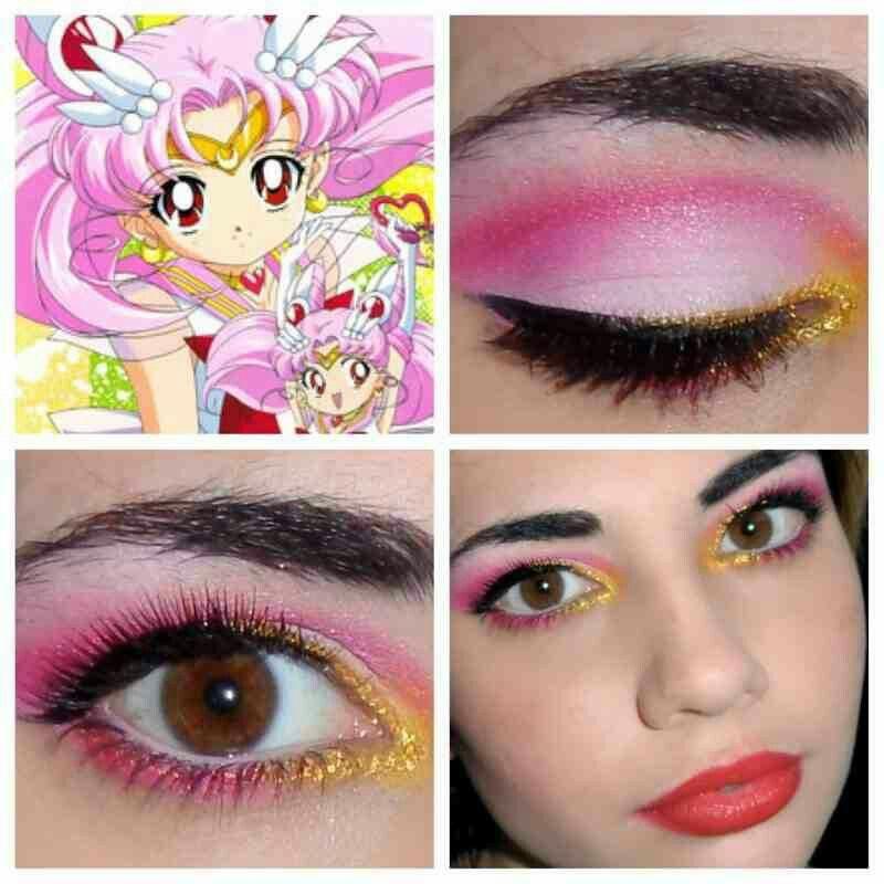 Mini Moon Sailor Moon Makeup Sailor Chibi Moon Cosplay Makeup