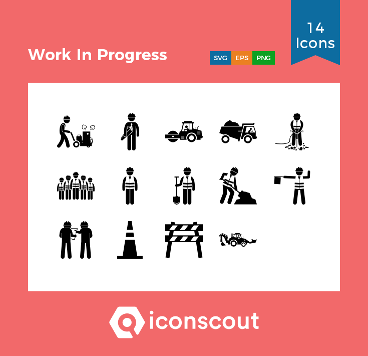 Download Work In Progress Icon Pack Available In Svg Png Eps Ai Icon Fonts Icon Pack Work In Progress Icon