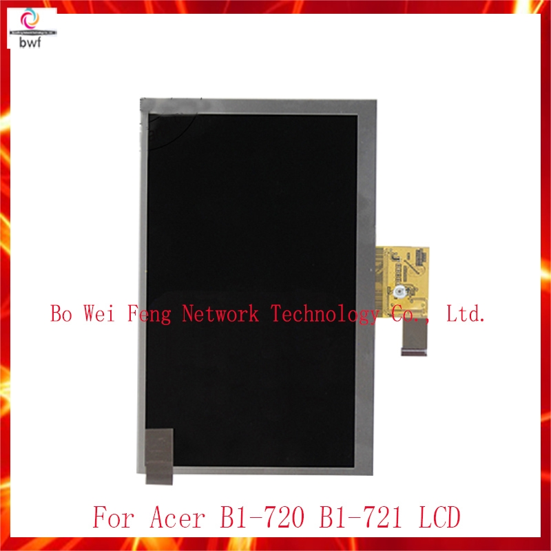 1169.00$  Watch here - http://ali43r.worldwells.pw/go.php?t=32762838127 - 50pcs/High Quality For Acer Iconia B1-720 B1-721 New LCD Display Panel Screen Monitor Moudle Replacement Part Free Shipping