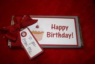 Free Printable Happy Birthday Chocolate Bar Wrapper From