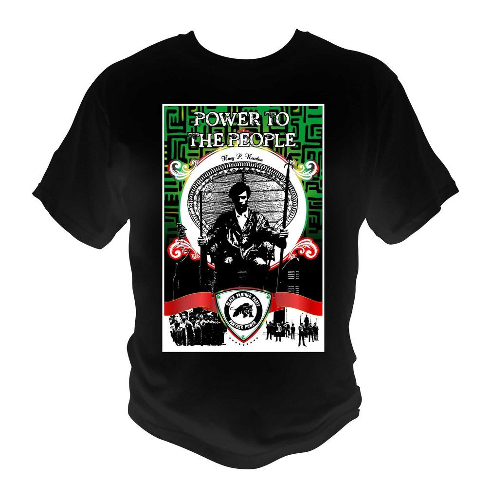 bb0973f49 Black Panther Party T-Shirt Graphic Tee Afrocentric Tribal | Black ...