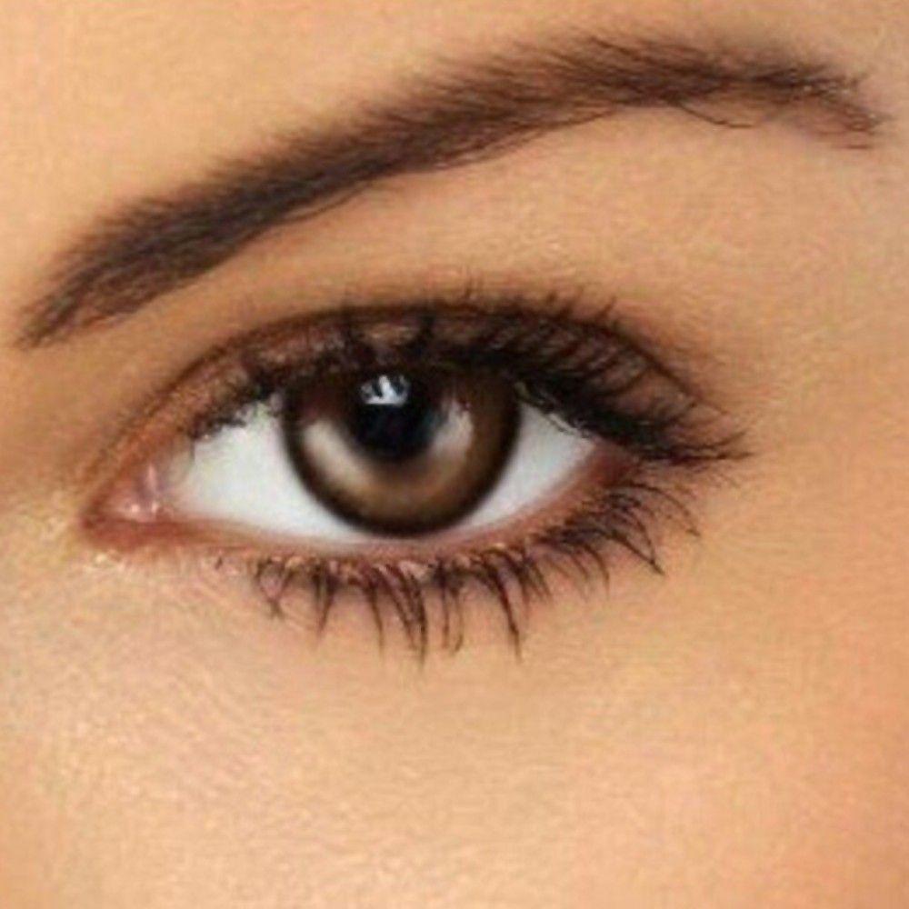 best natural eye makeup tutorial for brown eyes hair