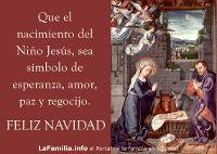 El nacimiento de Jesús como símbolo