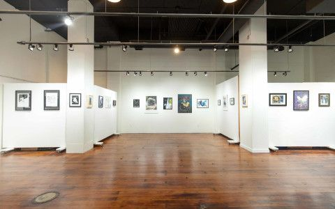 This Unique 1 700 Square Foot Ground Floor Gallery Space Offers A