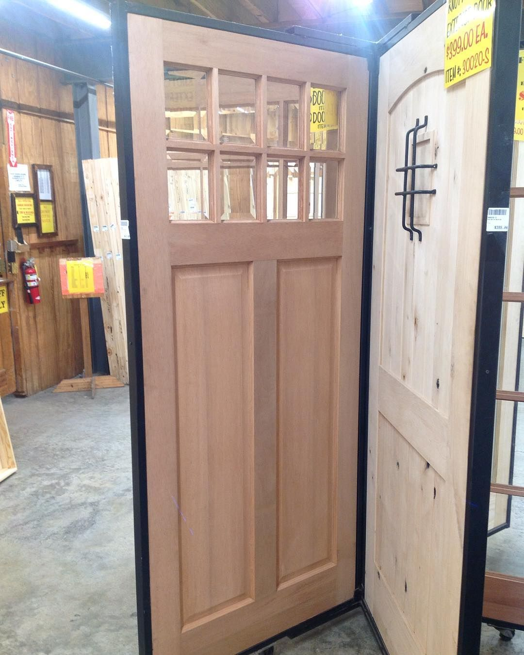 We Have A Variety Of Exterior And Interior Doors Like These