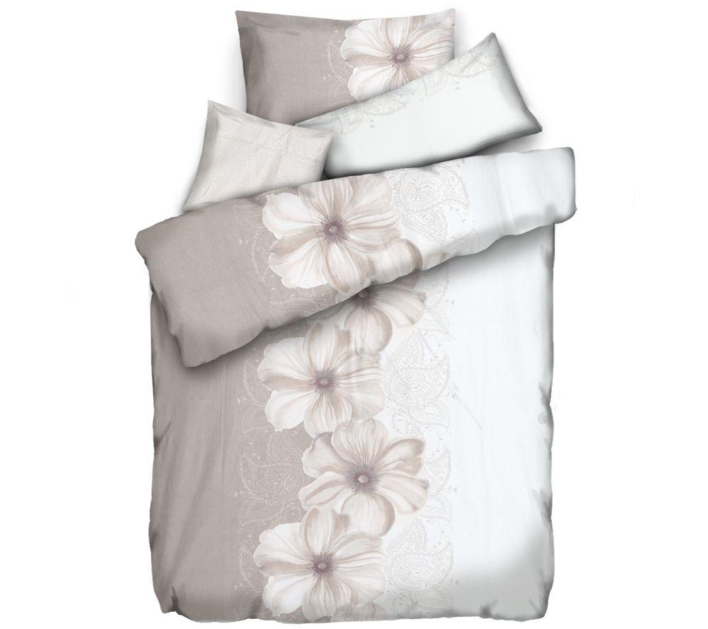 Winterengel Mf Edelflanell Bettwäsche Blütenpaisley Einzelbett 4