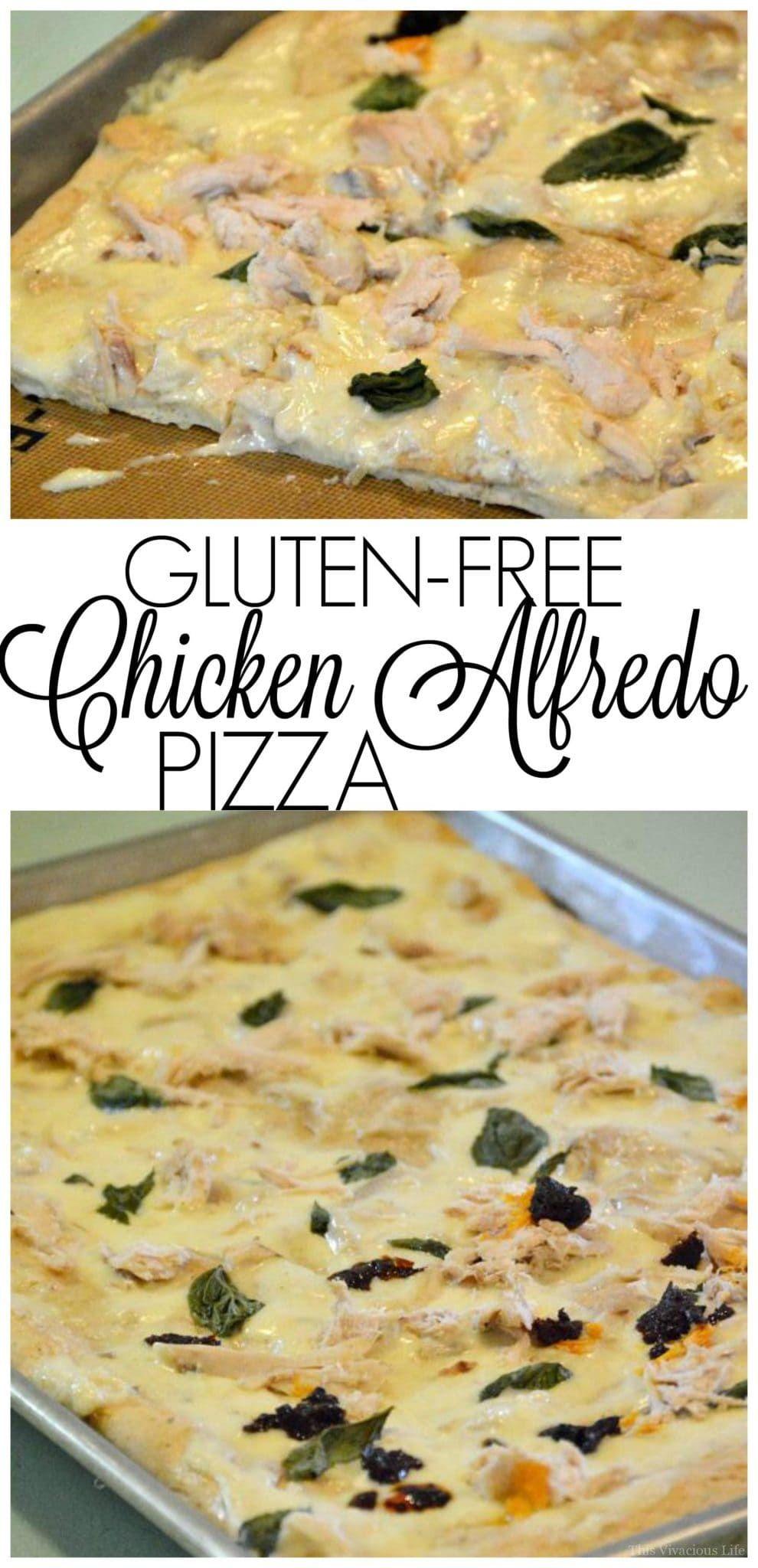 Chicken Alfredo Pizza (Gluten-Free) images