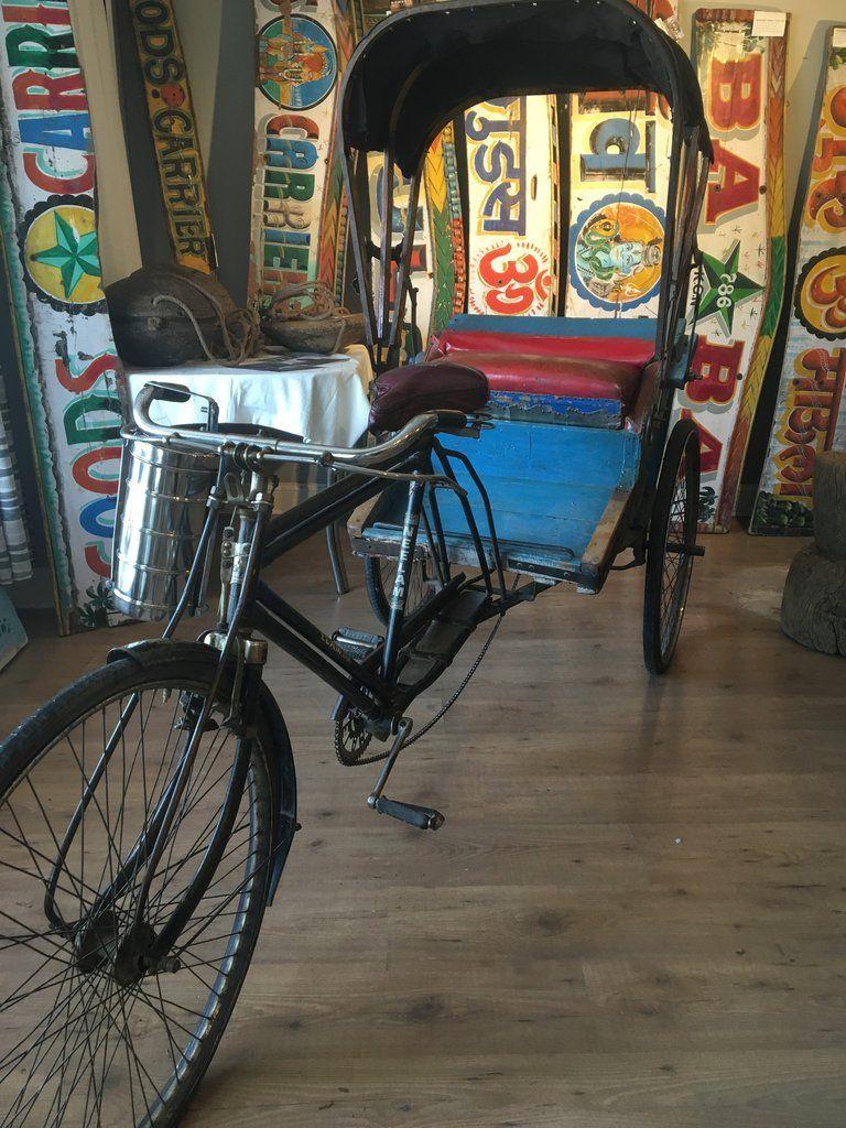 Vintage Indian Bicycle Rickshaw Neelam Bicycle Company
