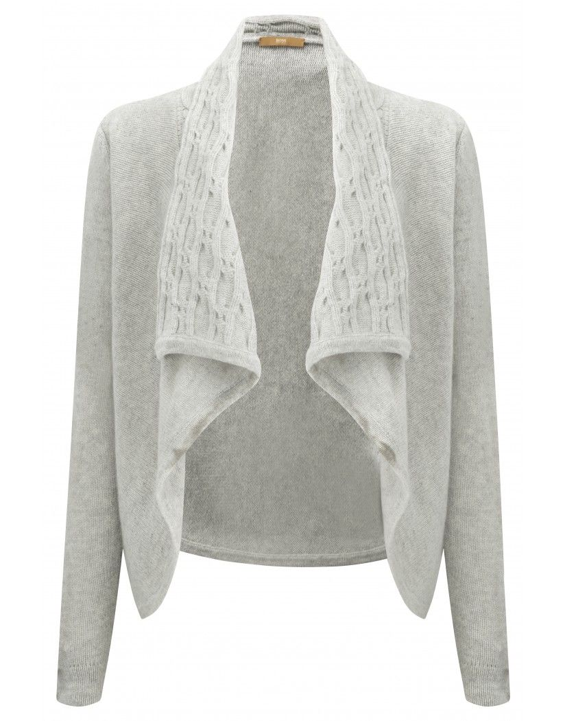 Boss Orange Ladies' Wikolia Cardigan - Pastel Grey | Autumn ...