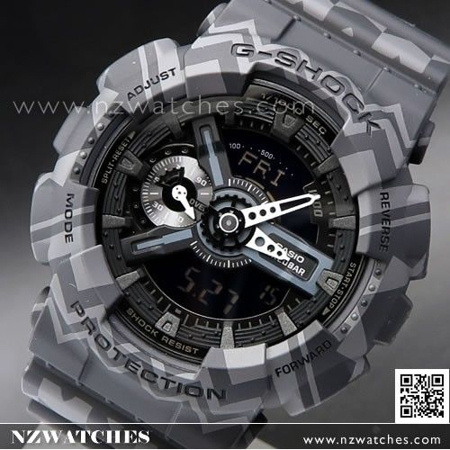 Casio G-Shock Ethnic and Retro Patterns Analogue Digital Limited Sport Watch  GA-110TP-1A 8dc2685376