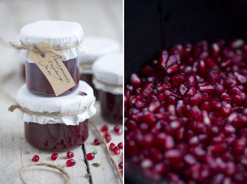 Pomegranate Raspberry Thyme Jam