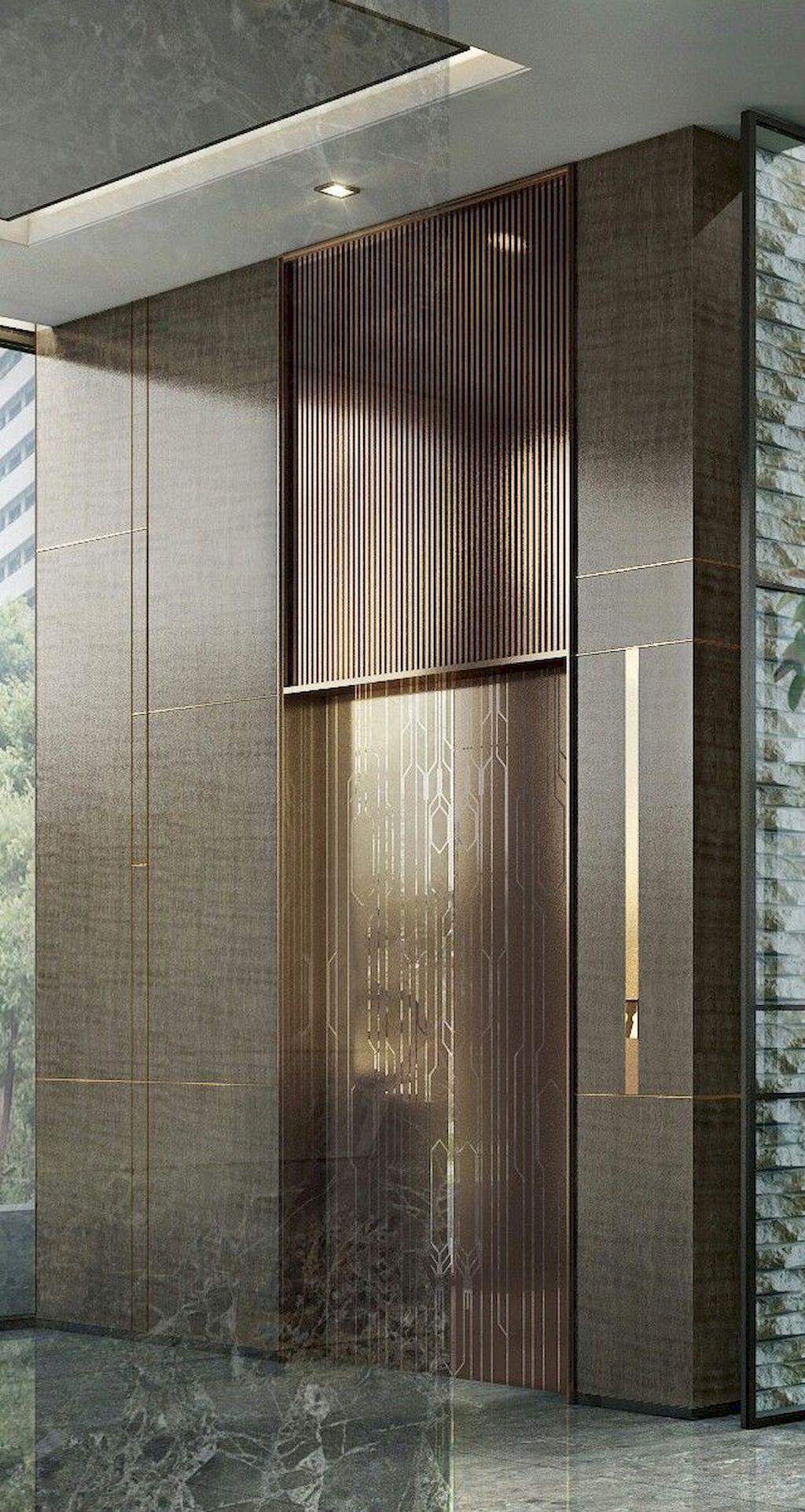 Door Design 1 With Images Hotel Lobby Design Elevator Lobby Design Lobby Design