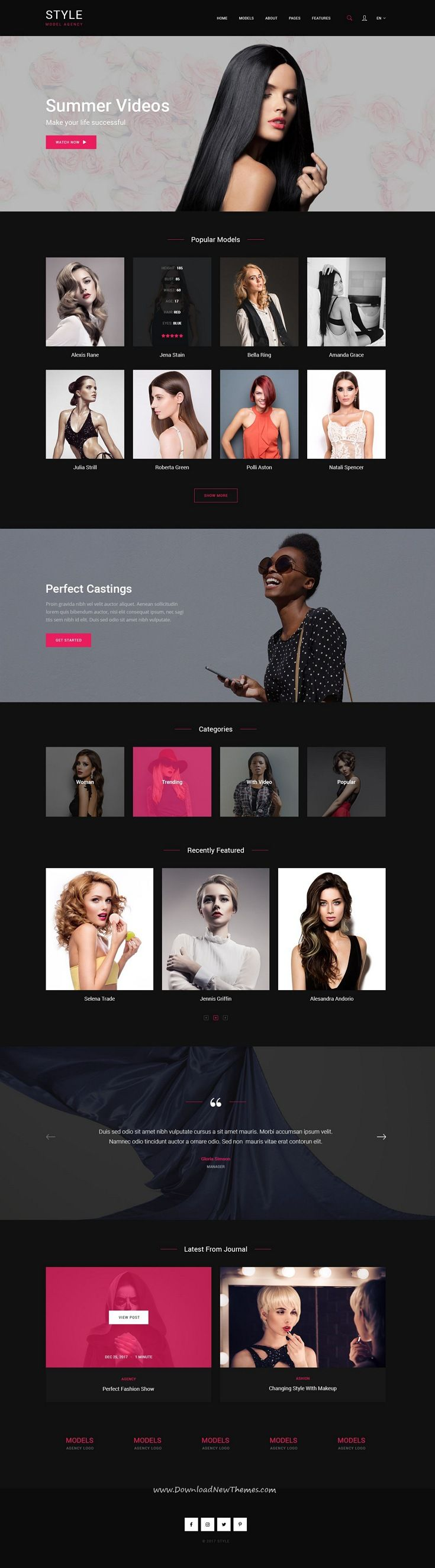 Style is clean and modern design PSD