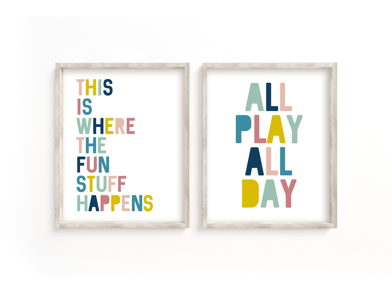 Digital Nursery Instant download Playroom Print Quote Create Art print Printable Printable Art Kids Art