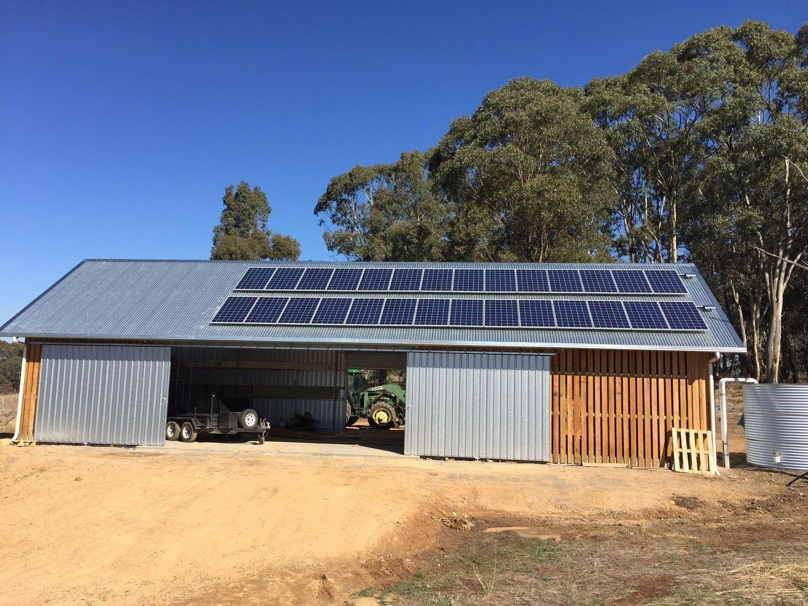 7 5kw Off Grid Solar Power System With 8 8kwh Of Usable Power Battery Bank This Customer Is Building A Solar Panel Cost Off Grid Solar Power Off Grid Solar