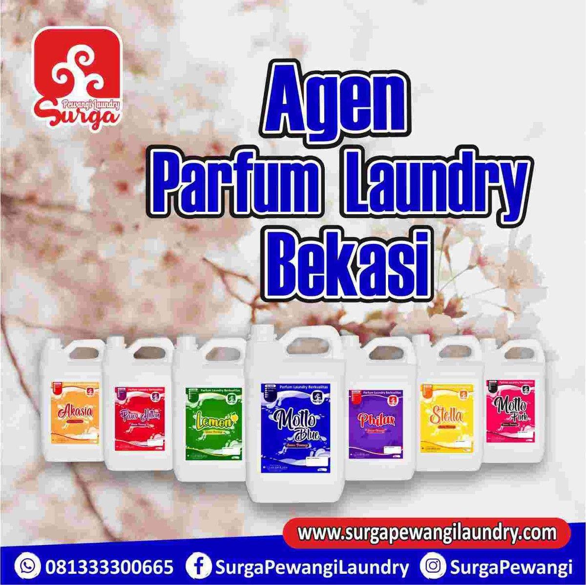 Jual Pewangi Laundry Atau Parfum Laundry Di Bekasi Surga Spanduk Parfum
