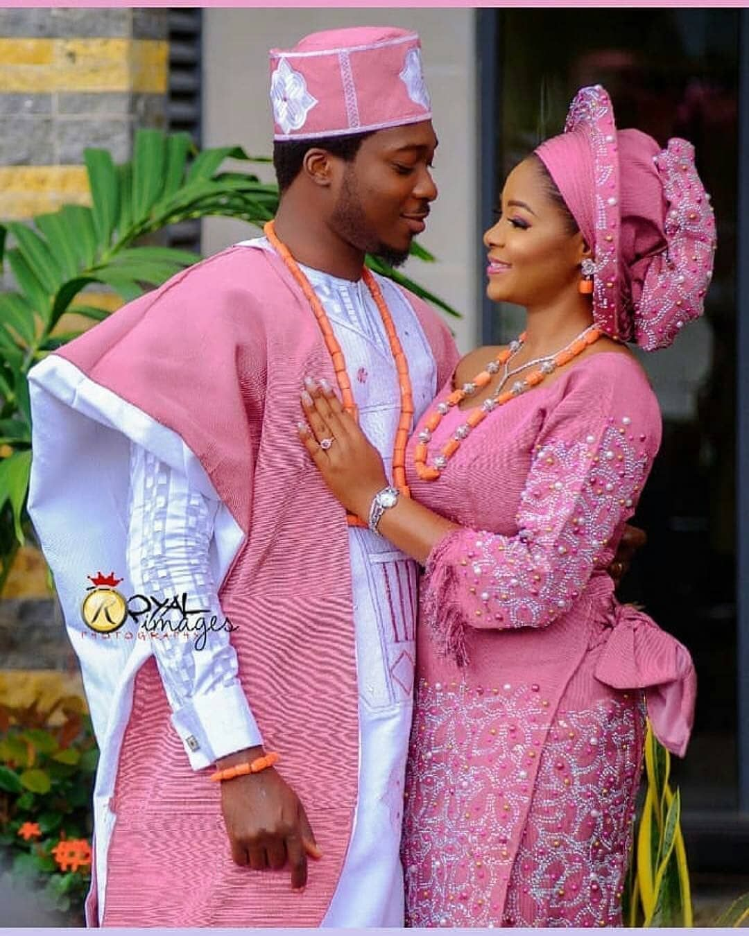 Wedding In Nigeria Traditional Dresses: Pelumi And Deji 💕💕💕 Event By