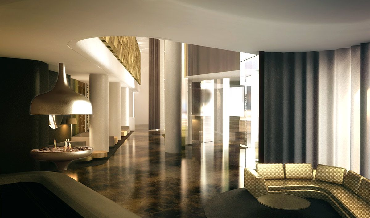 Five star hotel berlin berlin a project by ippolito for Designer hotel berlin