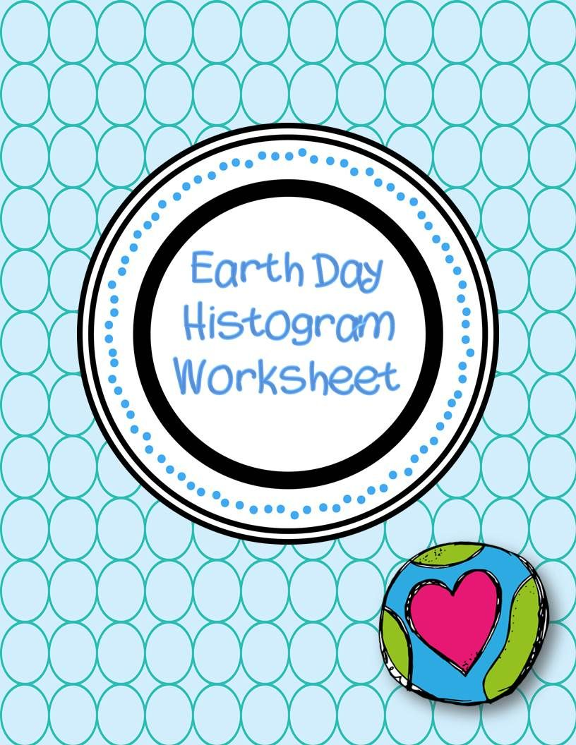 Earth Day Histogram Worksheet | Maths, Worksheets and School