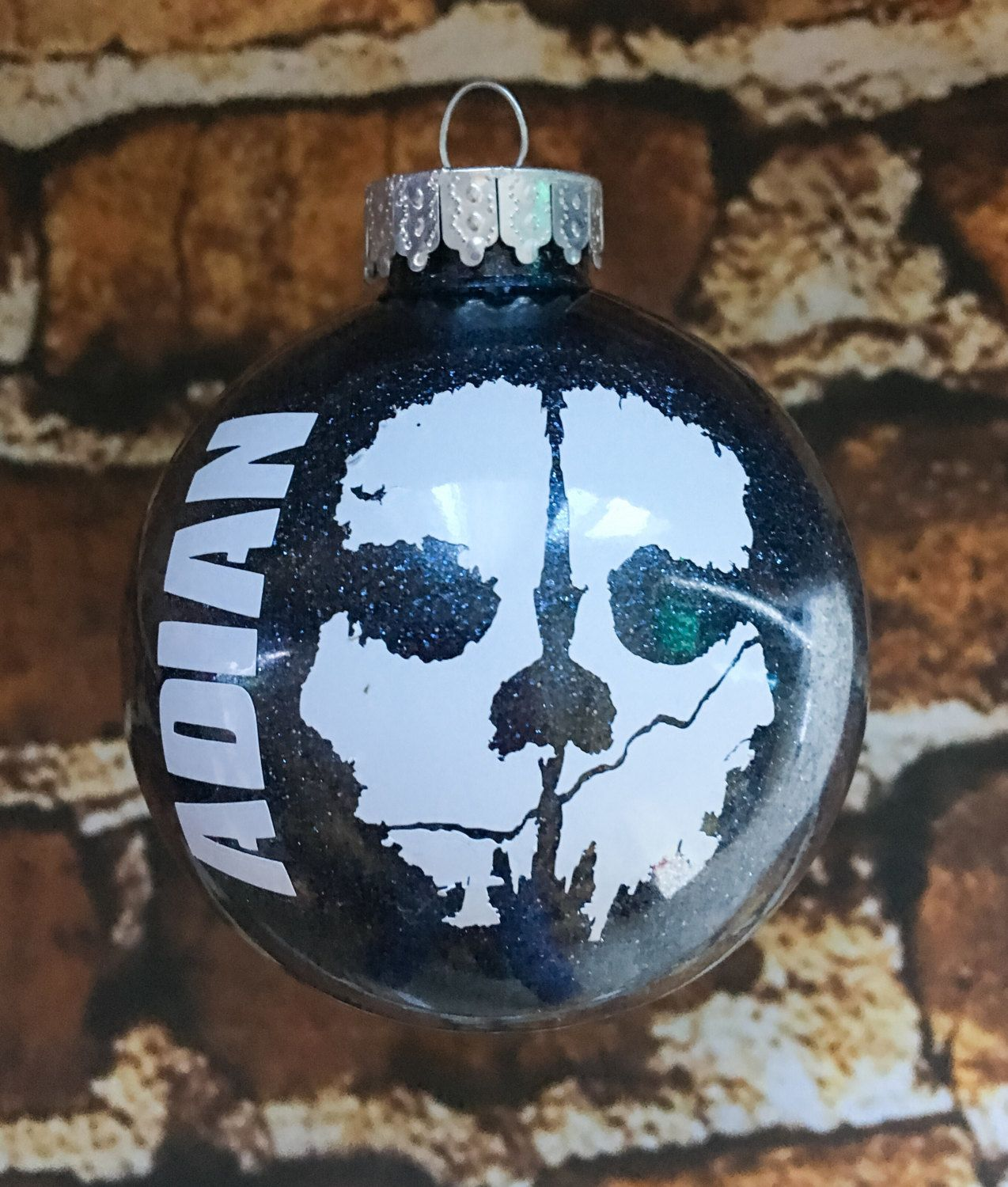 Call Of Duty Xbox Glitter Personalized Christmas Ornament By Expressionallyforyou Christmas Ornaments Personalized Christmas Ornaments Personalized Christmas