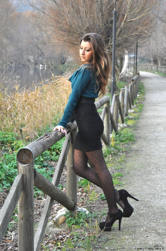 Tights And Pantyhose Over The