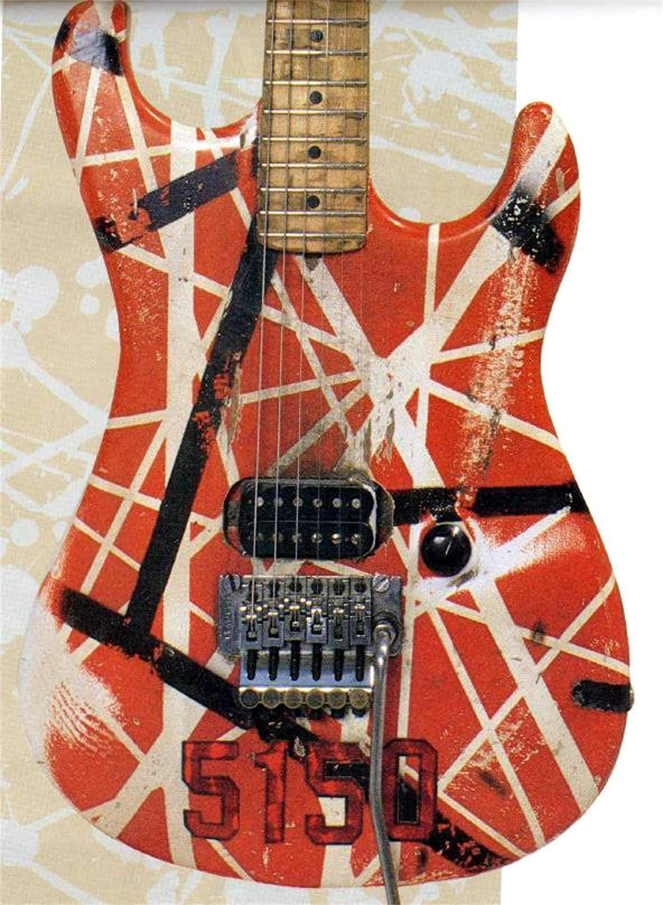 Pin By Larry Moore On Gibson Guitars Van Halen Eddie Van Halen Guitar