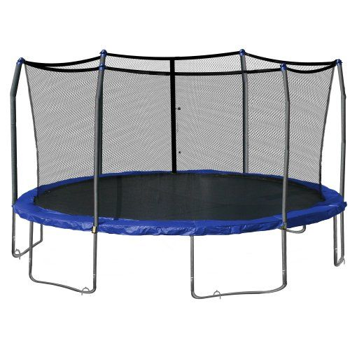 Skywalker Swtc17bws Oval Trampoline And Enclosure With ...