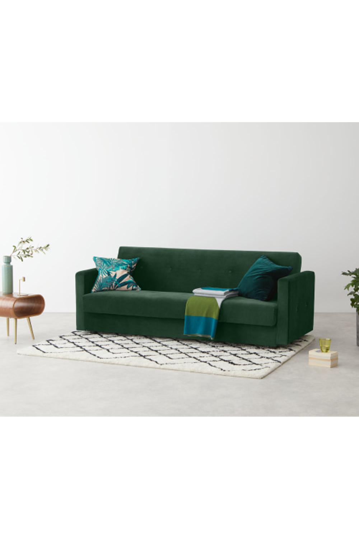 MADE pine green velvet Sofa bed Sofa, Green velvet sofa