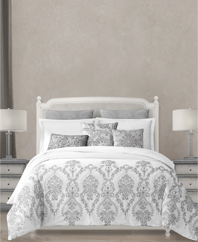 Lacourte Kaya 8 Pc Cotton Queen Comforter Set Bed In A Bag Bed Bath Macy S Comforter Sets Cotton Comforter Set King Comforter Sets