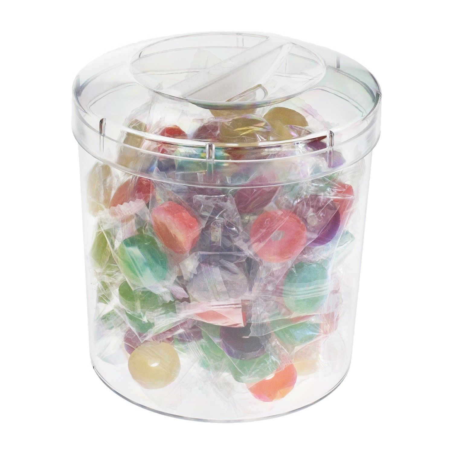 Round Clear Plastic Container Comes With Lid Made From High Quality Food Grade Polystyrene Fda Approved Foo Food Storage Clear Plastic Containers Container