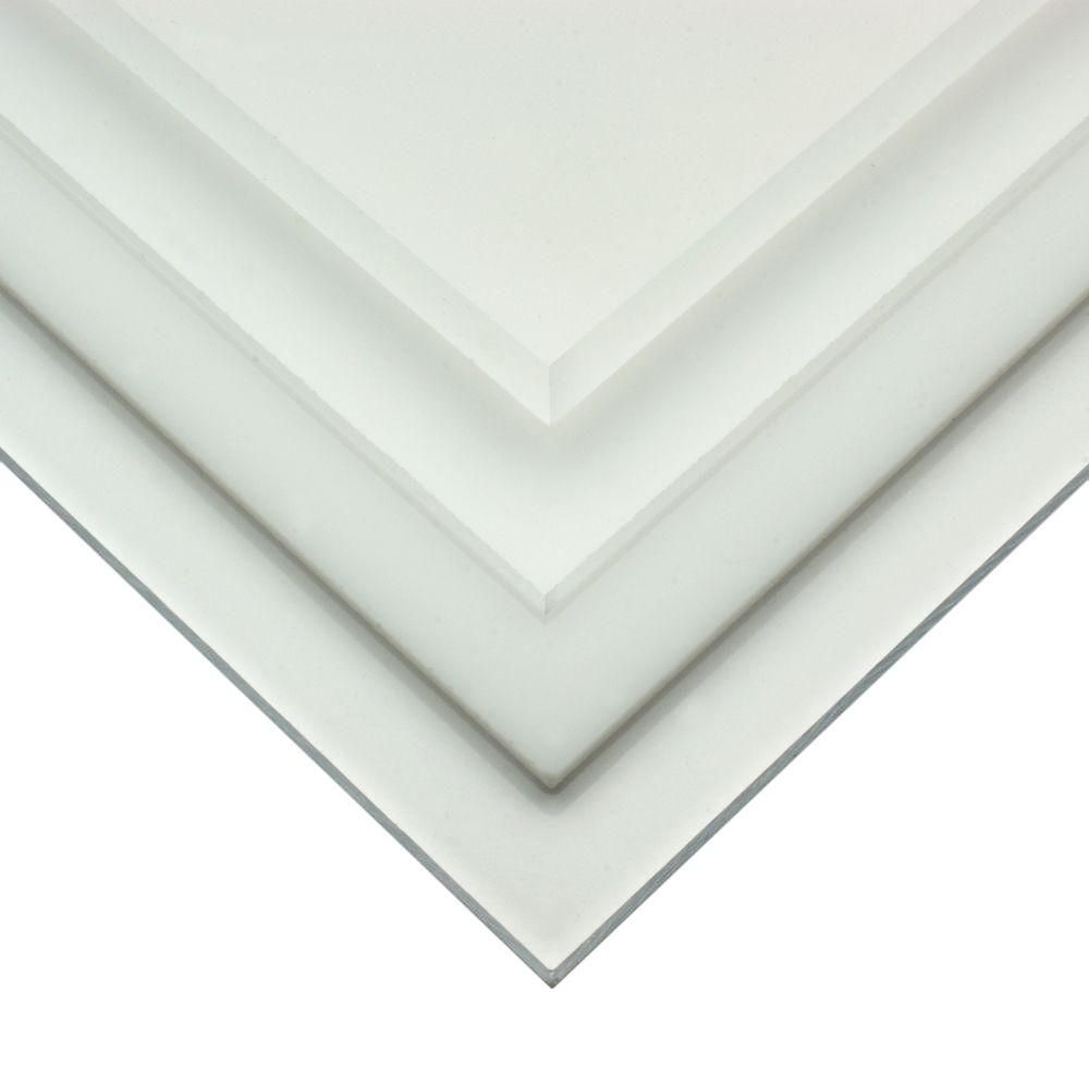 Optix 36 In X 72 In X 220 In Acrylic Sheet Mc 24 The Home Depot Clear Acrylic Sheet Acrylic Sheets Plastic Sheets