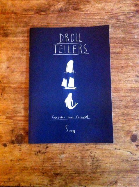 Droll Tellers Cornish Folktale Comic Zine by BrionyMaySmith