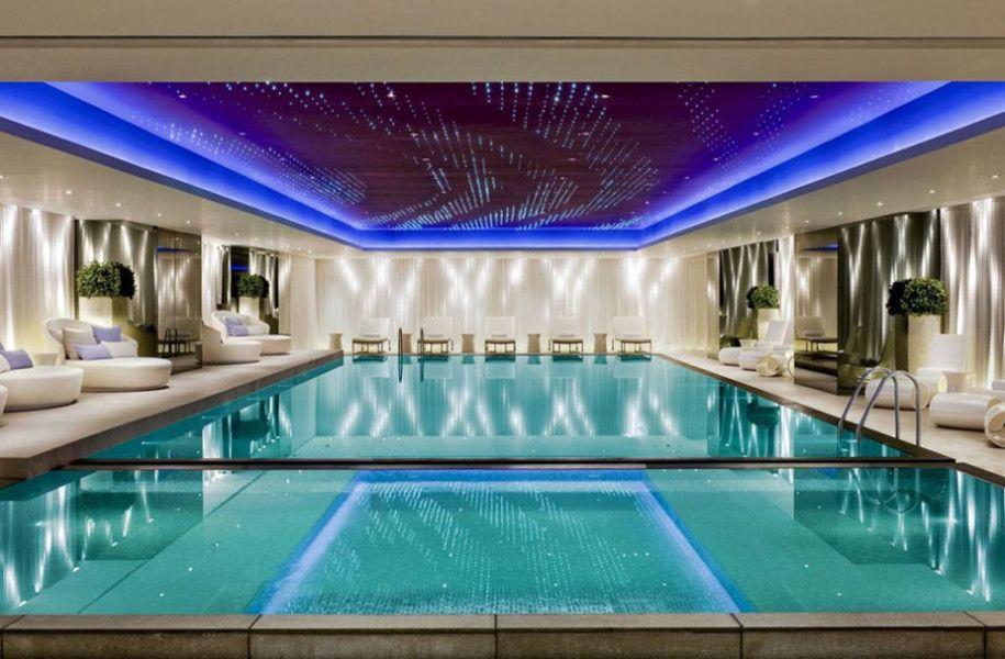Lets Talk About Pool Design Ideas And Gallery Of It : Luxury Indoor  Swimming Pool Design