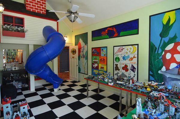 24 Idées décoration de salles de jeux pour enfants