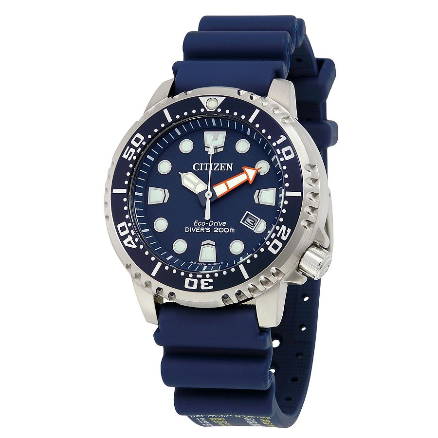 Citizen Promaster Professional Diver Dark Blue Dial Men's Watch BN0151-09L