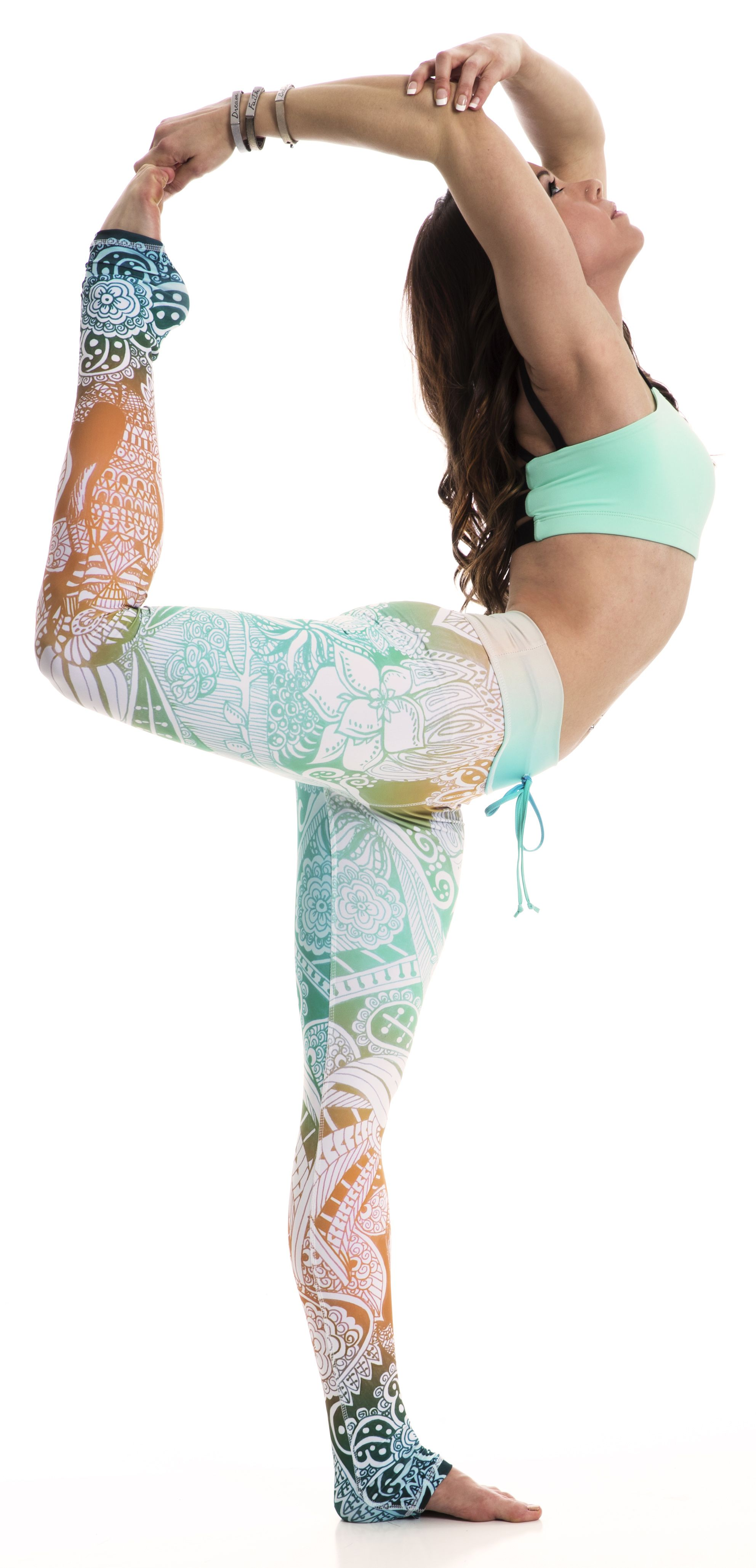 Dream big in your practice and in life! Om Shanti leggings available from  Uniquely Yoga Boutique ea0290b27e15