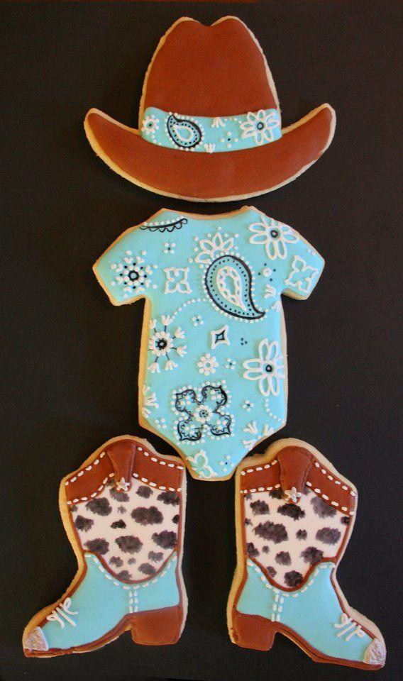 Arty McGoo baby onesie cookies