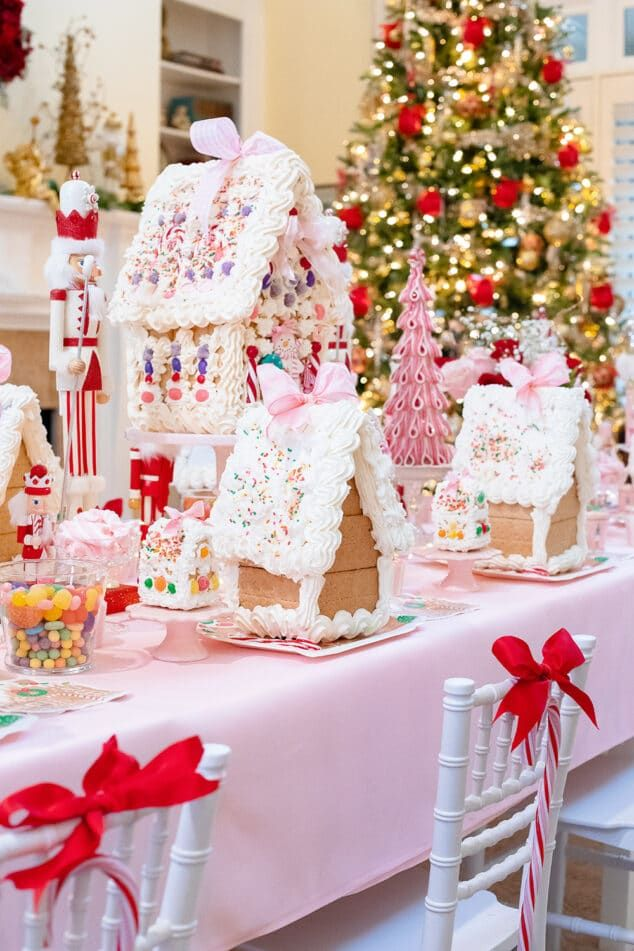 4th Annual Gingerbread House Tea Party Pizzazzerie (With