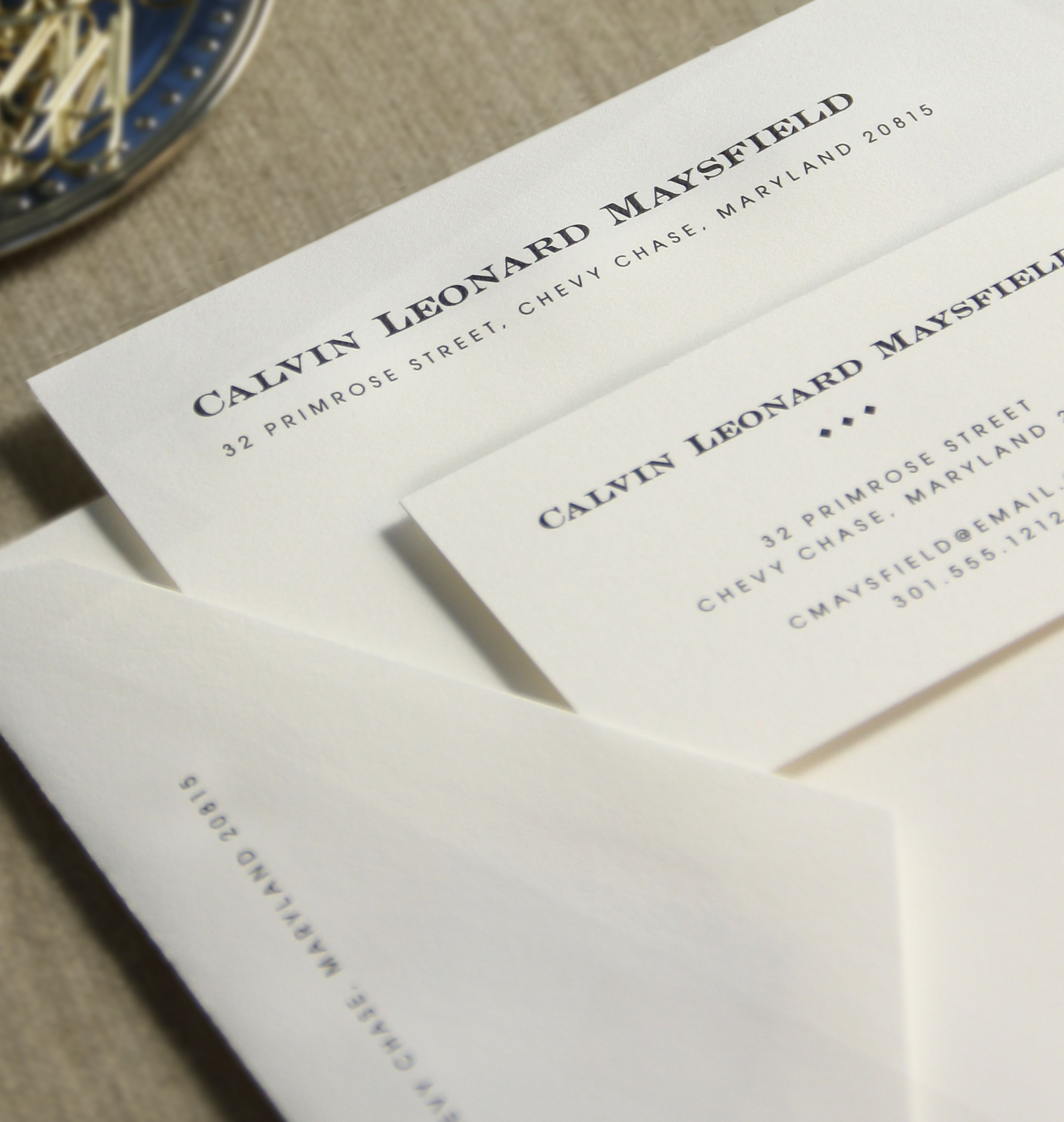 Executive College Stationery Note Cards: The Executive Sheet Is The Basic Stationery Used By Most